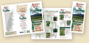 Applegate Valley Nursery Brochure